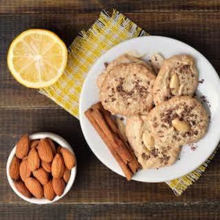 Almond Honey Cookies.