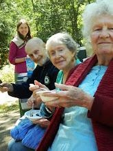 Photo: Mari's Birthday: picnic at Hagg Lake