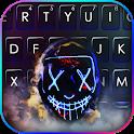 Purge Smoke Mask Keyboard Background icon
