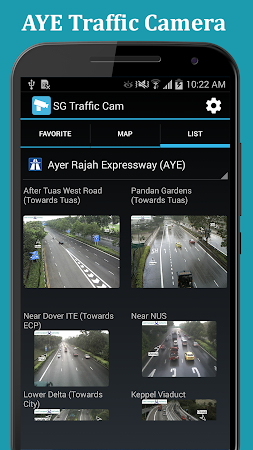 SG Traffic: Real Time Cameras 1.0.8 screenshot 1092855
