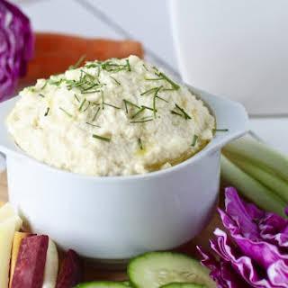 Cauliflower Garlic Hummus.