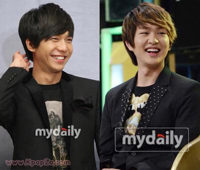 Lee Seung Gi ประชันเกมดีดหน้าผากกับ Onew