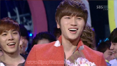 K.Will ร่ำไห้หลังชนะ Inkigayo