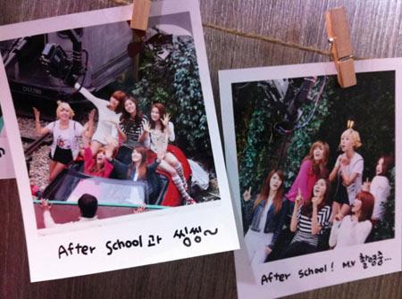 "After School ชวนแฟนๆ ขับขี่ปลอดภัยในแคมเปญ ""Traffic Safety Song"""
