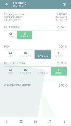 KuBA Privatrechnungsassistent screenshot 4