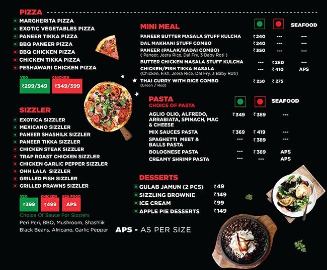 Trap Lounge menu 3