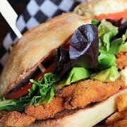 Chicken Schnitzel Sandwich Combo