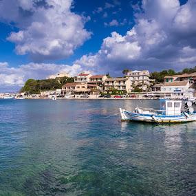 Corfu, Greece by Katarzyna Najderek - City,  Street & Park  Vistas