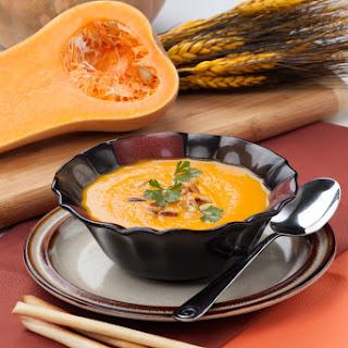 Soup Maker Butternut Squash & Leek Soup.