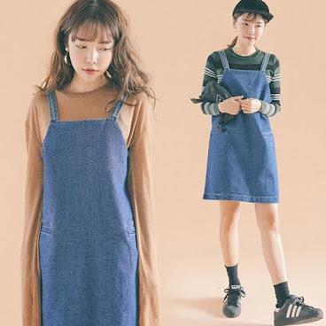 新款韓版牛仔連身裙 $159 有興趣聯絡:6991-7992