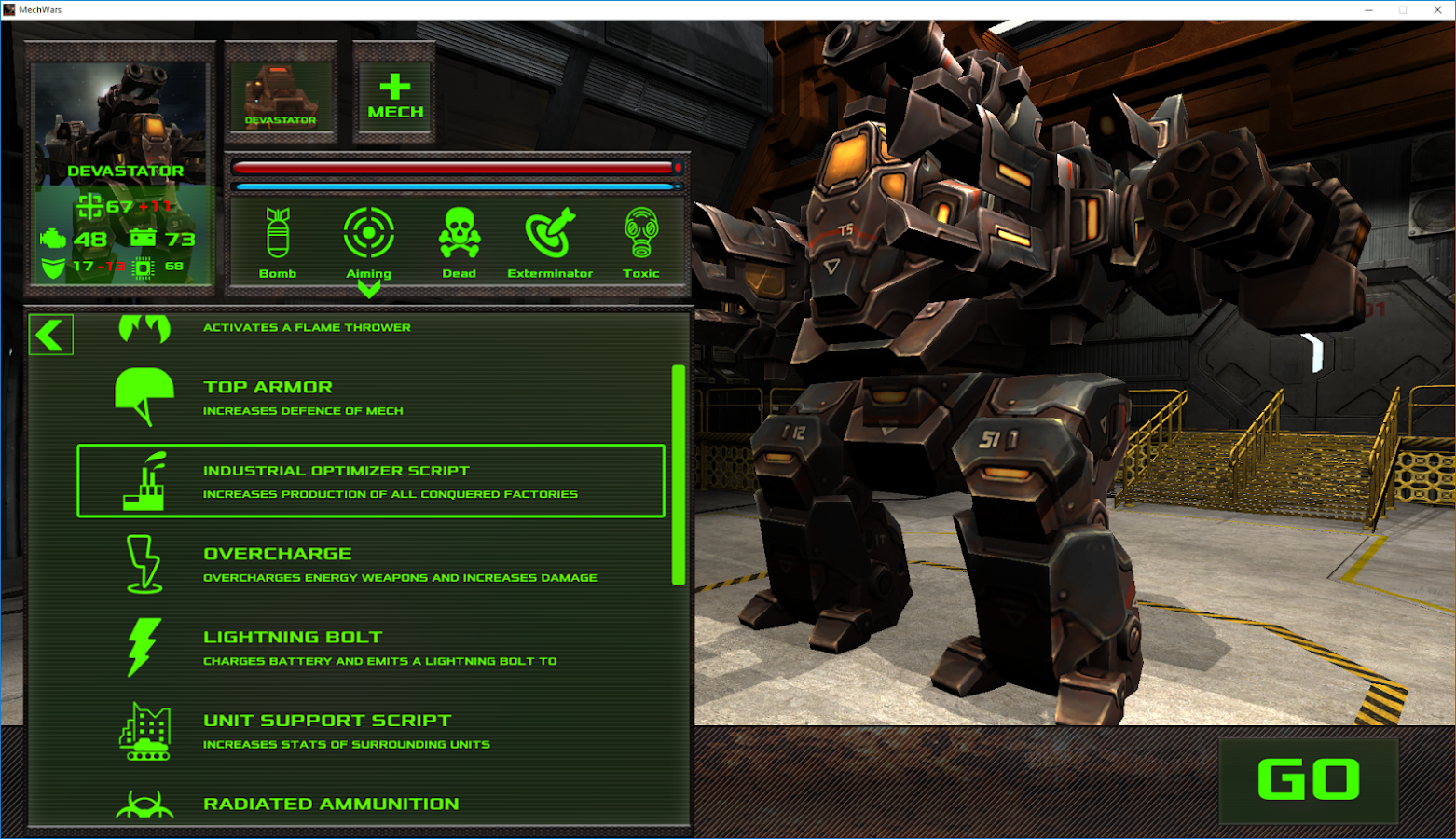 MECH WARS- screenshot