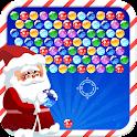 Bubble Shooter Dia de Natal HD icon