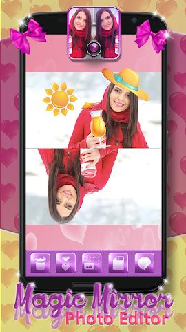 android Magic Mirror Photo Editor Screenshot 3