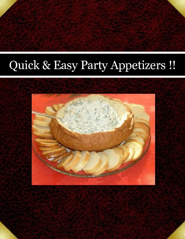 Quick & Easy Party Appetizers !!