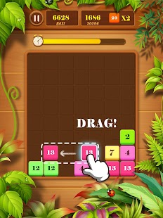 Drag n Merge: Block Puzzle Screenshot
