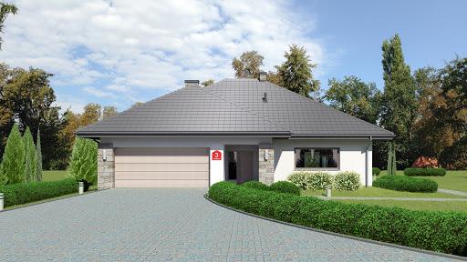 projekt Dom przy Kwiatowej 3 bis