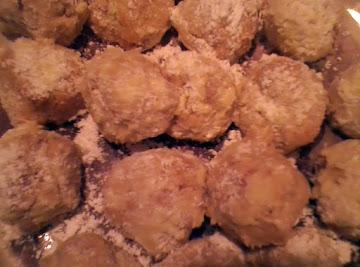 Macadamia Coconut Portuguese Tea Cookies. Recipe