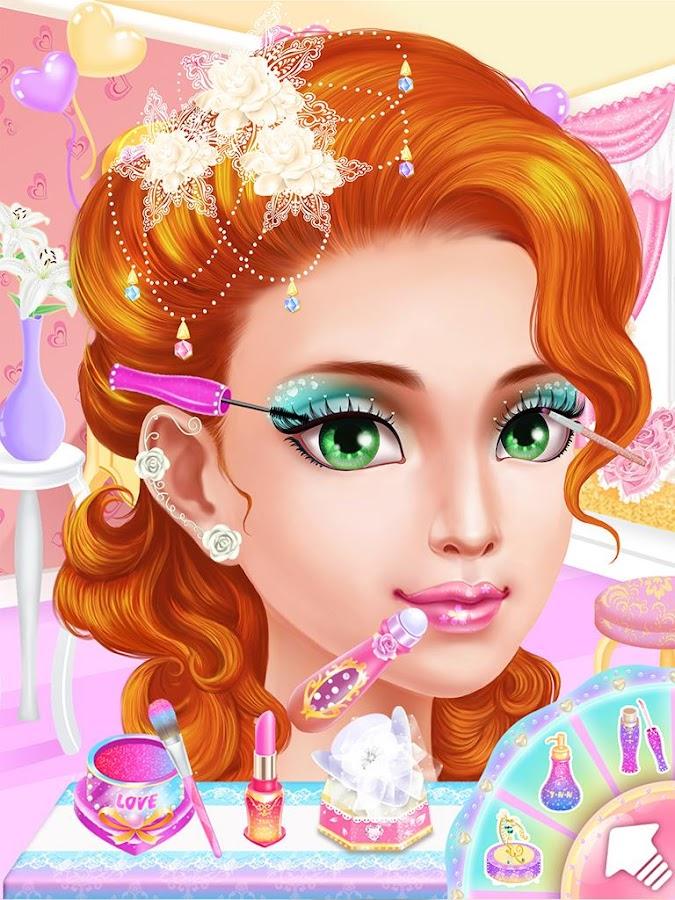 Wedding Makeup Salongirl Game Screenshot