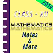 Class 12 Mathematics Study Materials & Notes 2019 Android APK Download Free By Onlinexampoint