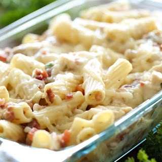 Baked Bacon Chicken Rigatoni
