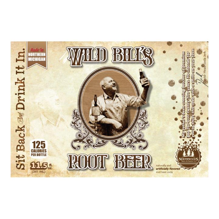 Logo for Wild Bill Root Beer