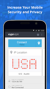 VPN for Privacy VyprVPN- screenshot thumbnail