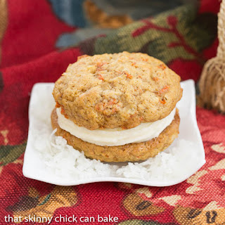 Carrot Cake Whoopie Pies #SundaySupper.