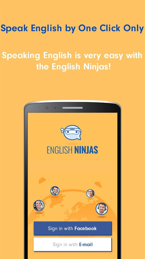 English Ninjas - Online Speaking Practice Teacher- screenshot
