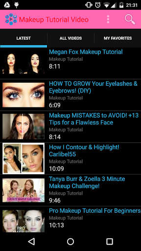 Makeup Tutorial Video