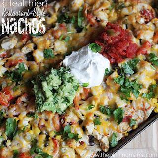 {Healthier} Restaurant Style Nachos