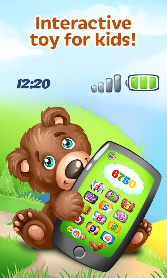 Baby Phone - Fun Game for Kids- screenshot