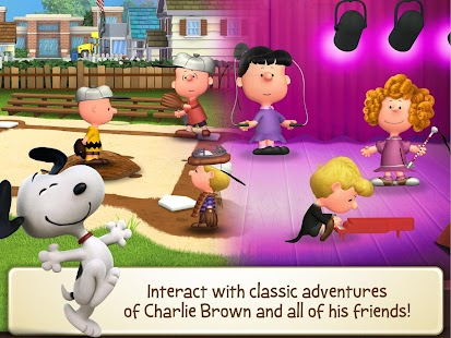 Peanuts: Snoopy's Town Tale Screenshot