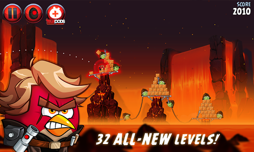 Angry Birds Star Wars II Free screenshot 5