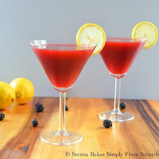 Spiked Blackberry Lemonade.
