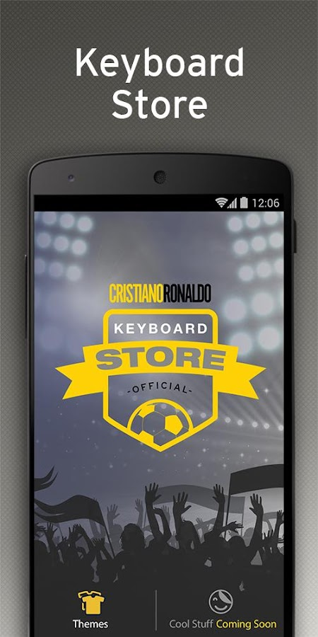 Cristiano Ronaldo Keyboard- screenshot
