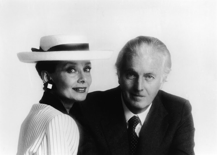 Hubert de Givenchy and his life-long friend Audrey Hepburn
