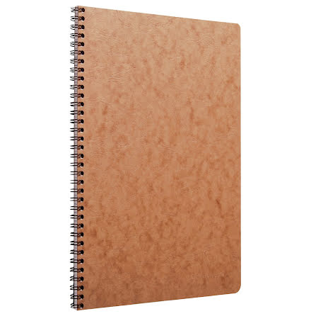 Koll.block AgeBag A4 lin brun