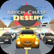 mech chase desert