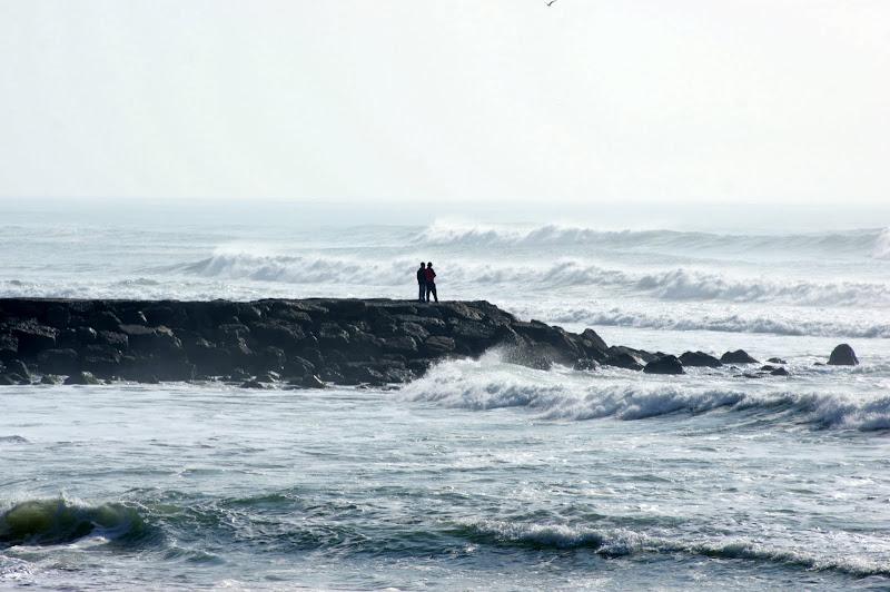 O mar na Costa da Caparica