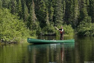 Photo: Enjoy canoe fishing with WildExodus Adventure Travel