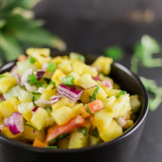 Spicy Jalapeno Cucumber Pineapple Salsa