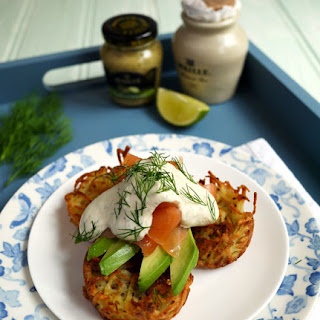Oven Baked Brunch Rosti with Smoked Salmon Recipe