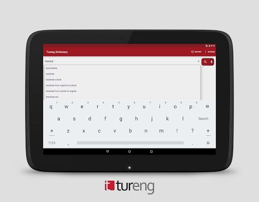Tureng Dictionary screenshot 9