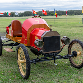 by Judy Rosanno - Transportation Automobiles ( antiques, auto and airplane show, texas, kingsbury, wings and wheels )