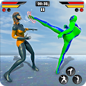 Real Kung Fu Fighting Game-Ultimate fighting Arena icon
