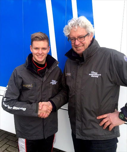 Schumacher's teenage son Mick in terrifying '100mph crash' days