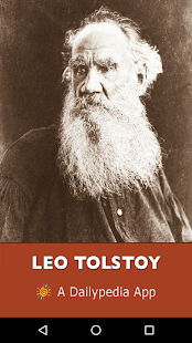 Leo Tolstoy Daily - náhled