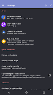 substratum theme engine: miniatura de captura de pantalla