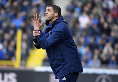 L'entraîneur du Sporting Anderlecht Karim Belhocine dispose d'une option en moins en attaque
