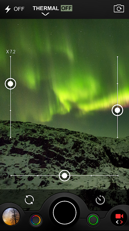 Night Camera (Photo & Video) screenshots